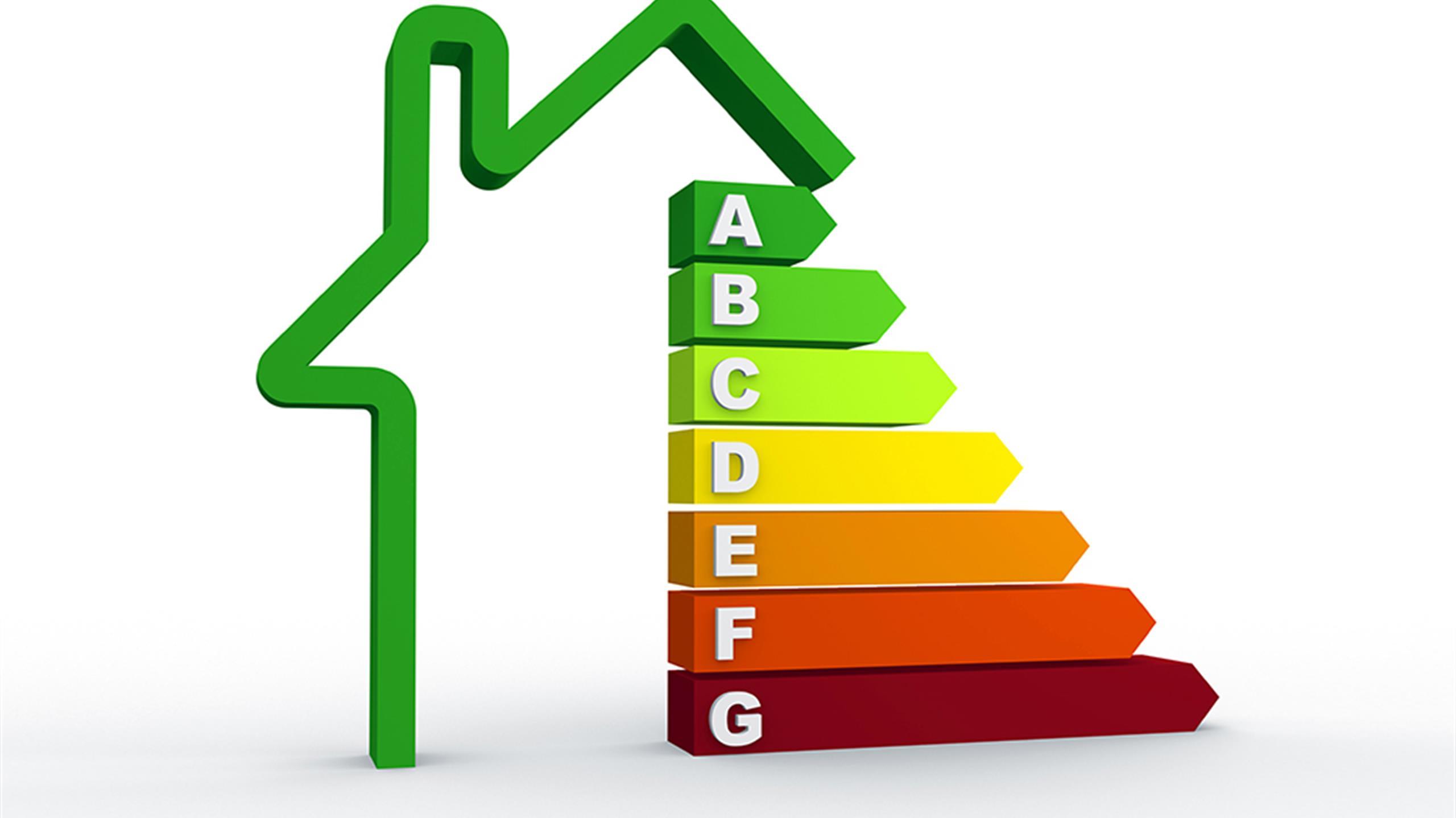 Energy testing of buildings