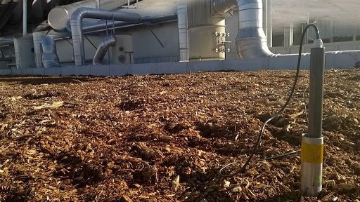 Compost and biofilter
