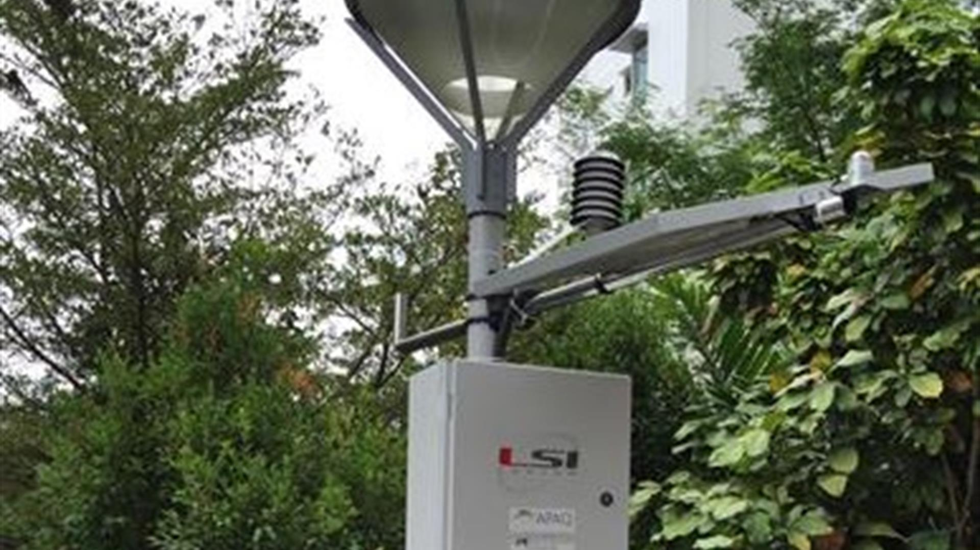 Monitoraggio meteorologico a scala locale per Singapore