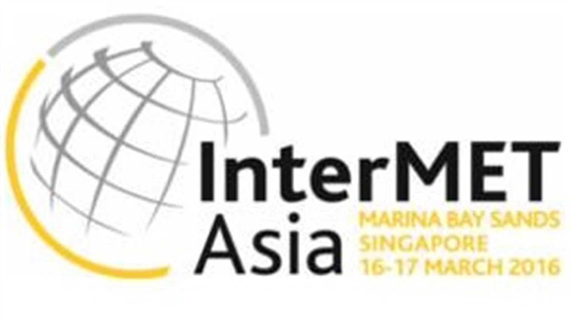 InterMET Asia 2016 – Singapore