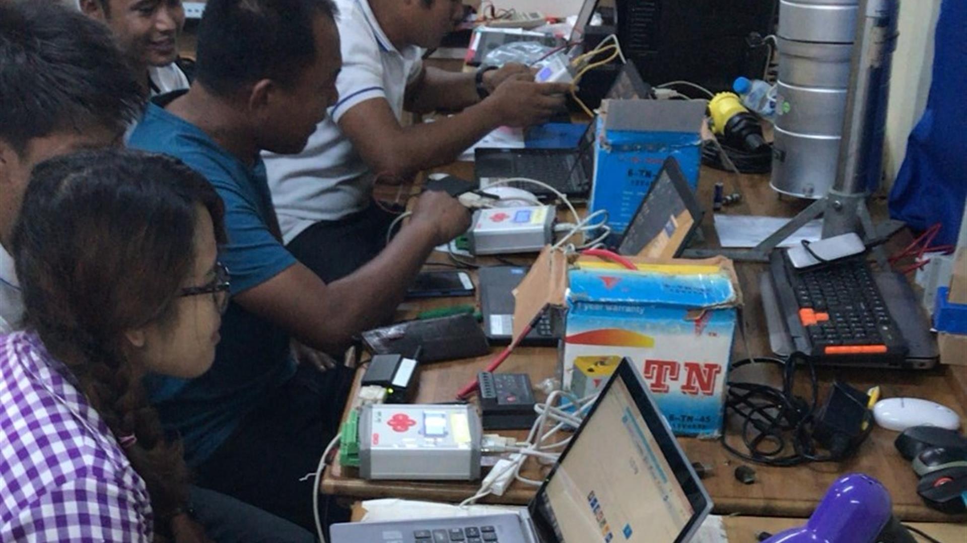 Seminario via web a tecnici del Myanmar