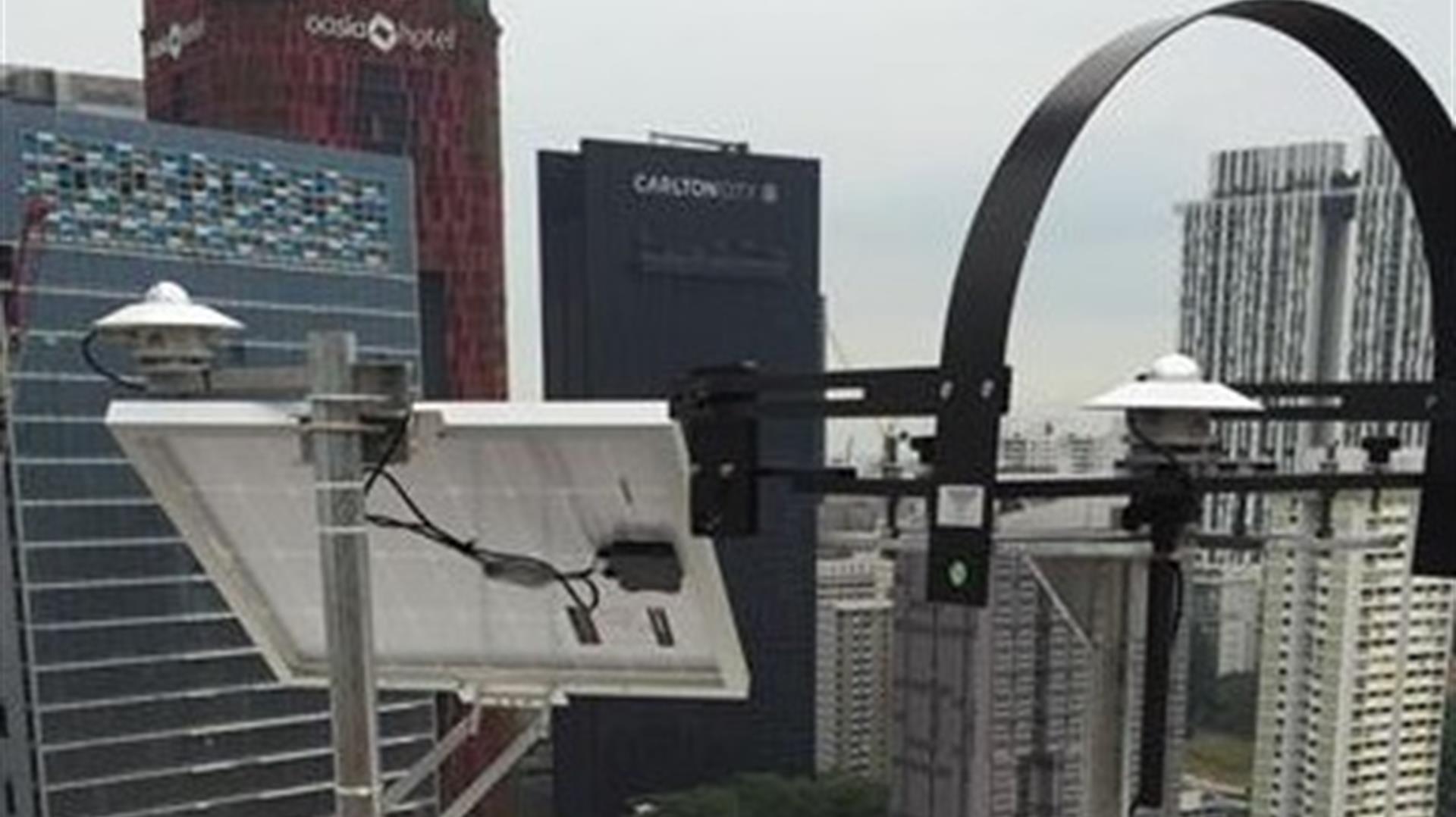 Sistema di monitoraggio WBGT outdoor a Singapore