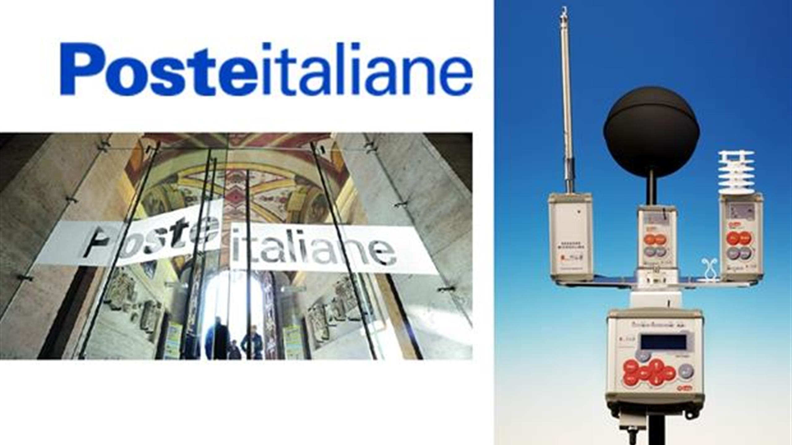 Sistema per il monitoraggio del comfort presso Poste Italiane