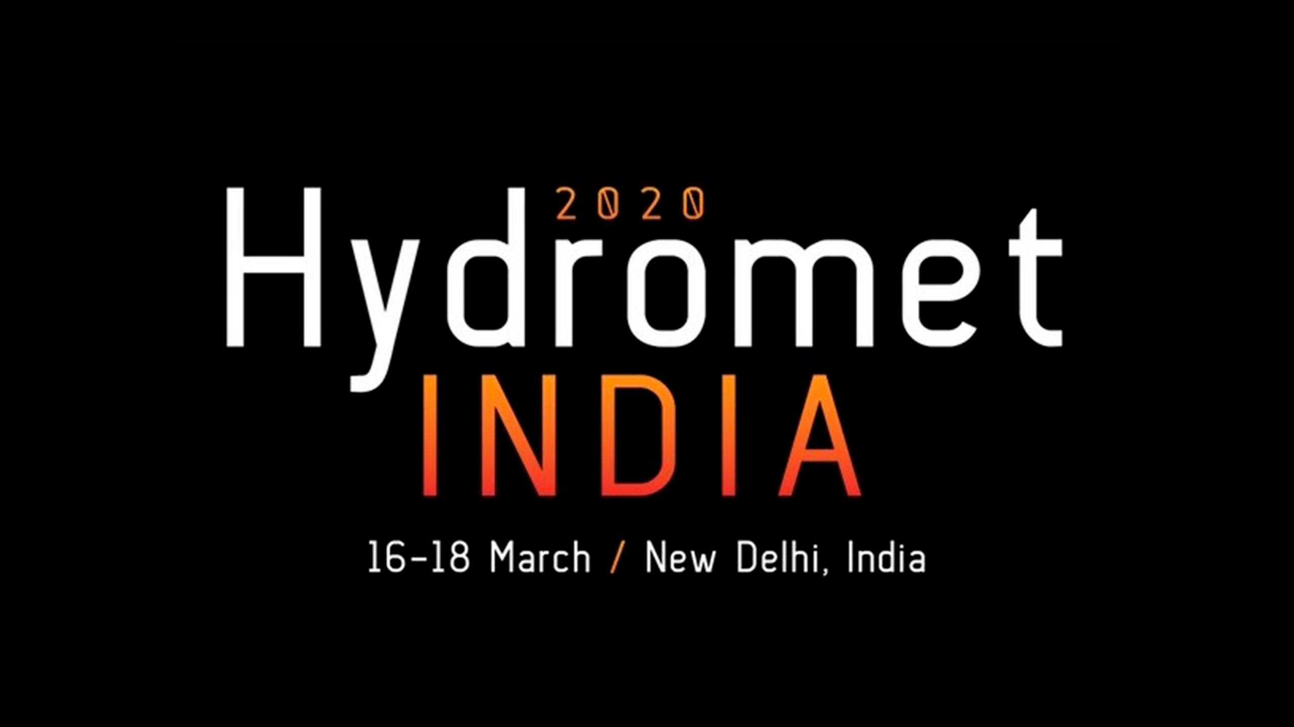 HydroMetINDIA 2020 – Delhi IN