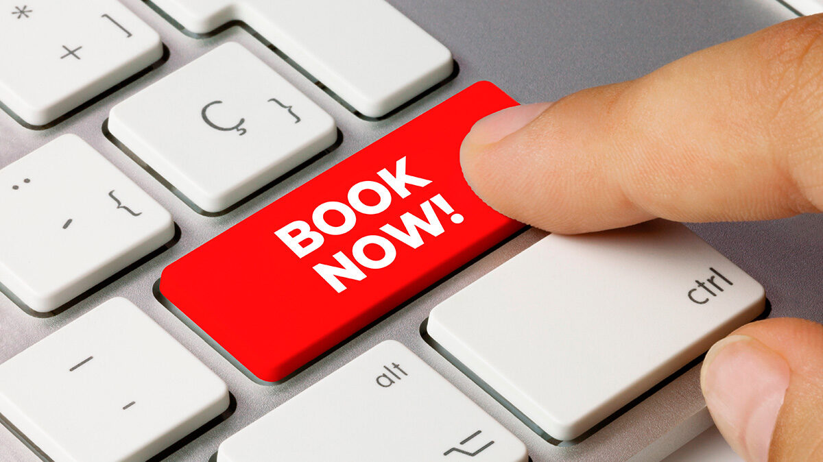 Want to contact us? Use our new ONLINE BOOKING service
