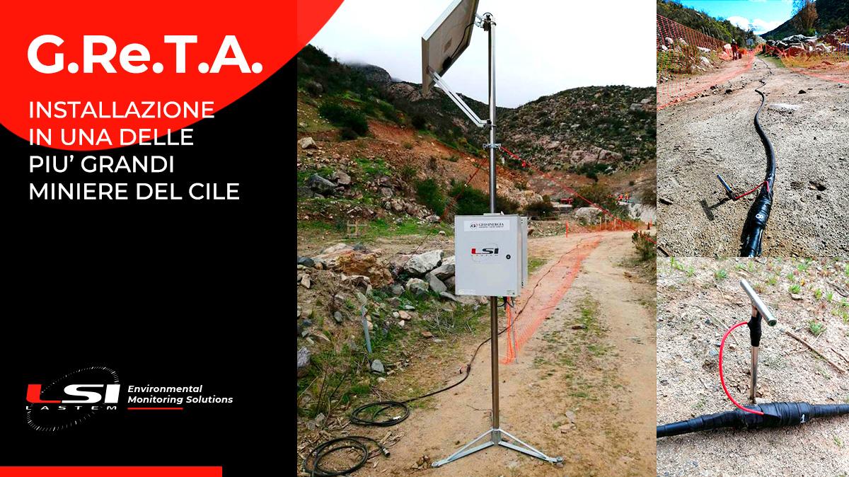 G.Re.T.A. Installazione in una delle più grandi miniere del Cile