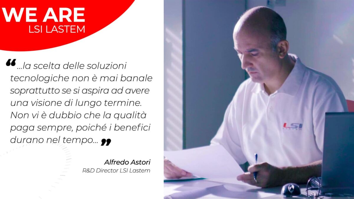 Due chiacchiere con Alfredo Astori, il direttore del Dept. Research and Development