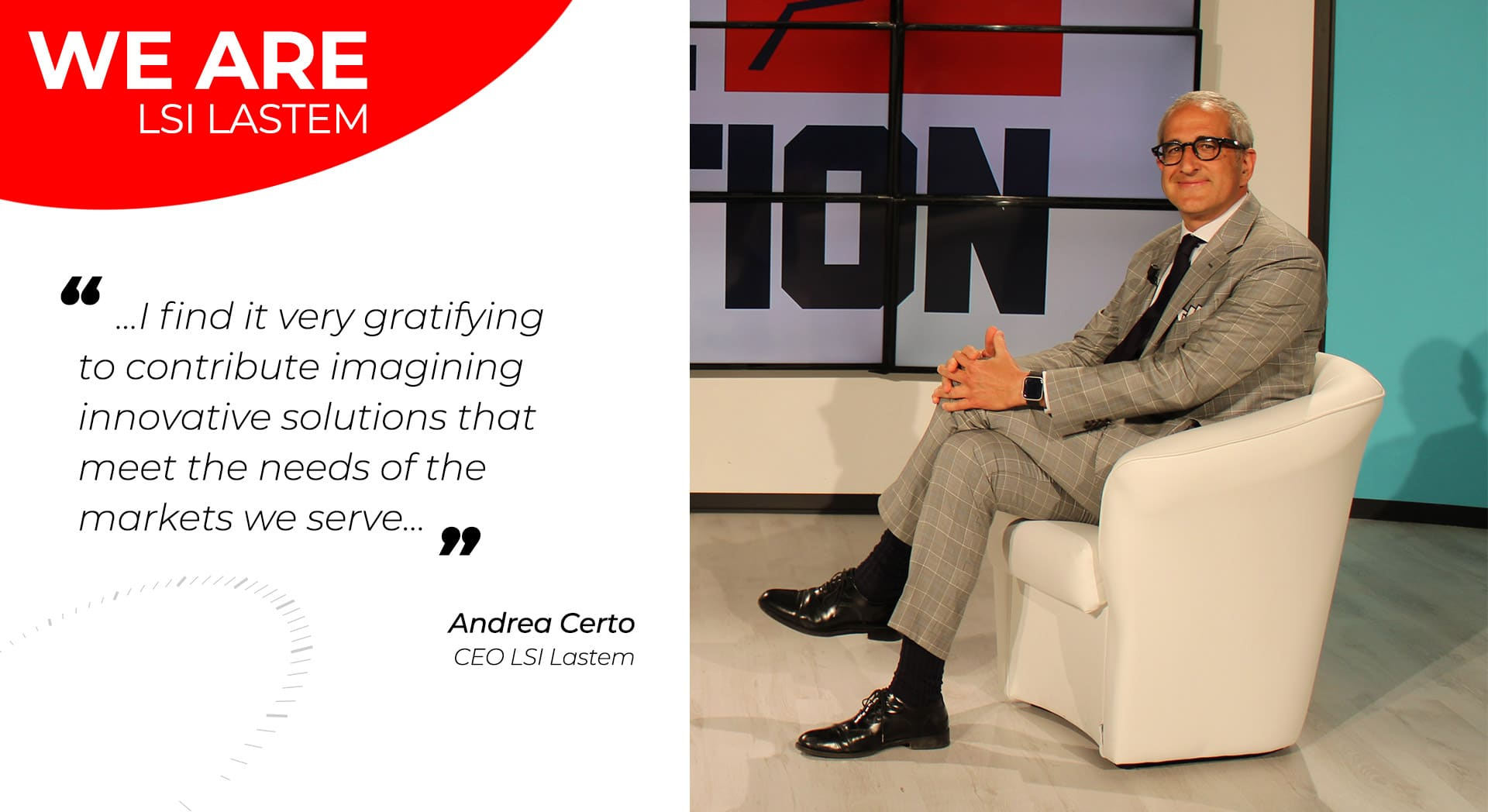 A little chat with our CEO Andrea Certo