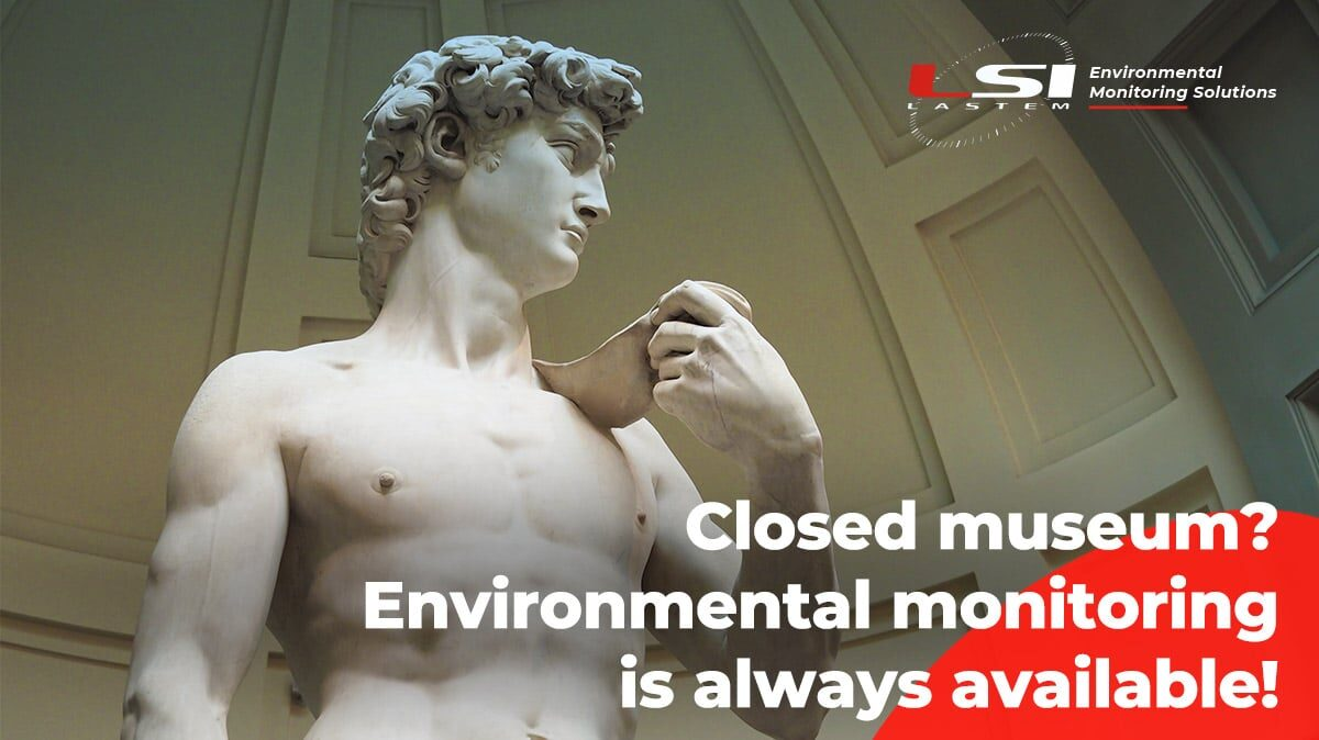 Cultural heritage: the importance of environmental monitoring (even when museums are closed!)