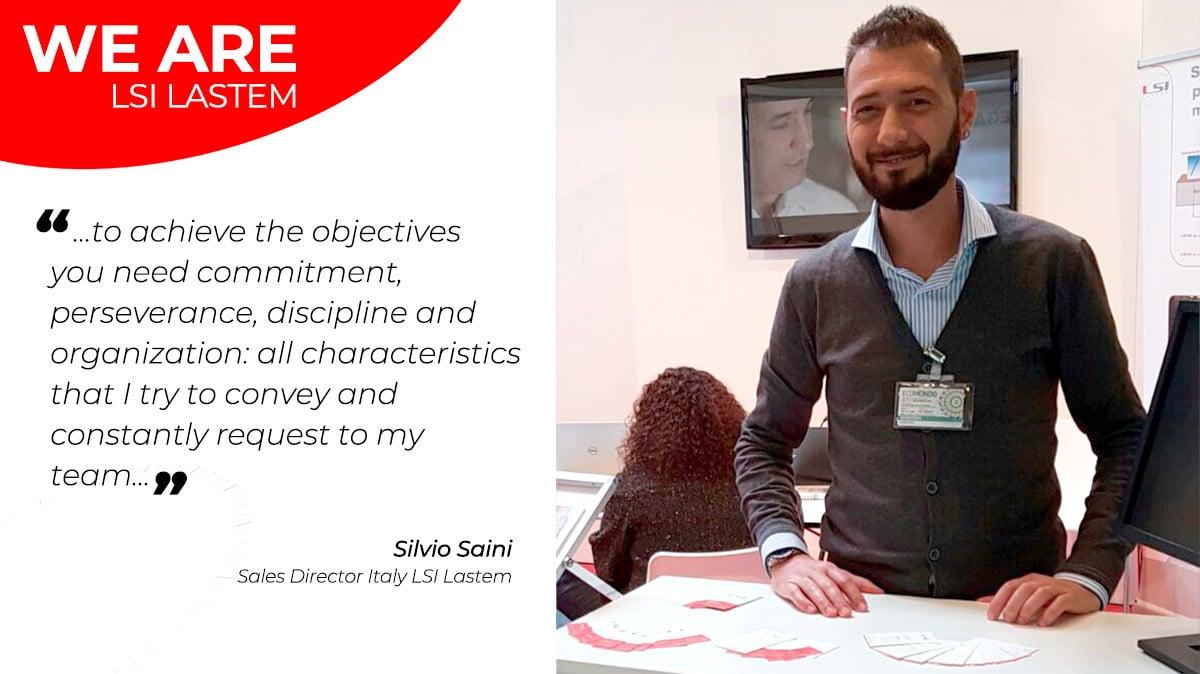 A little chat with Italian Sales Director Silvio Saini