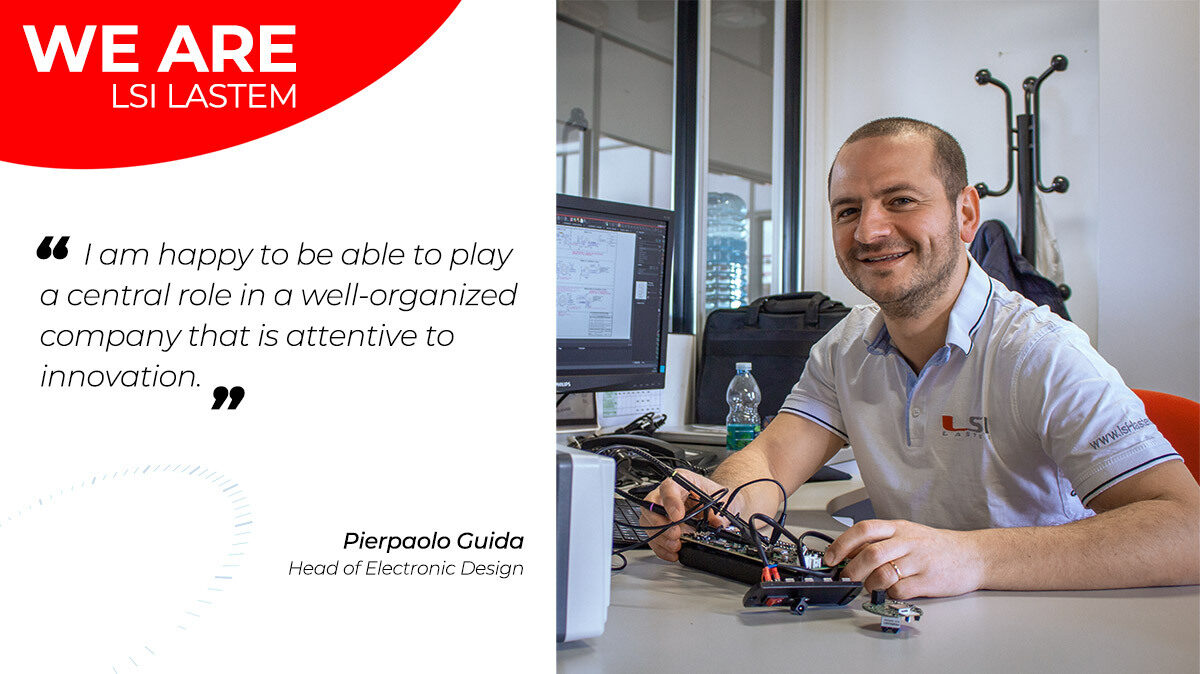 A little chat with Pierpaolo Guida, the Head of Electronic Design