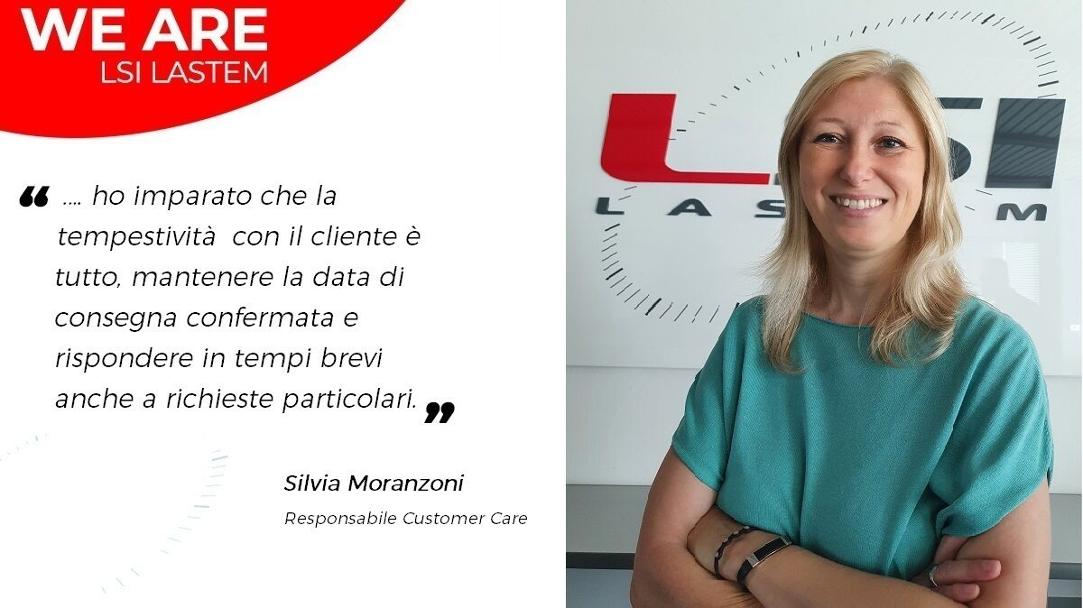 A little chat with Silvia Moranzoni, the Customer Care Responsible