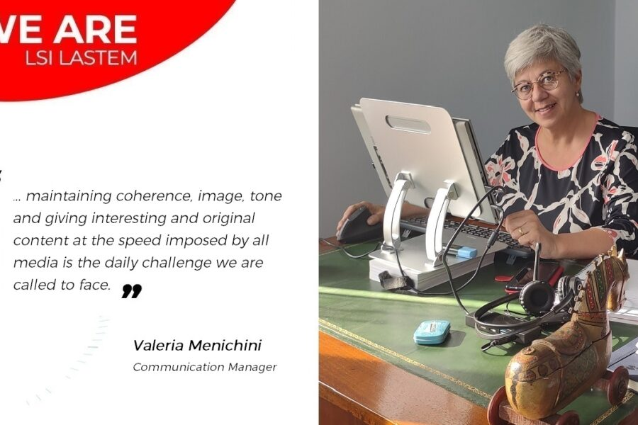 A little chat with Valeria Menichini, the Communication Manager